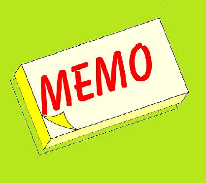 Contoh Memo Bahasa Inggris dan Penjelasannya