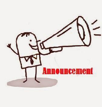 Kumpulan Contoh  Announcement/Pengumuman Dalam Bahasa Inggris