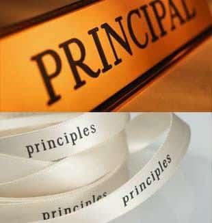 Perbedaan Antara PRINCIPAL dan PRINCIPLE di Dalam Bahasa Inggris