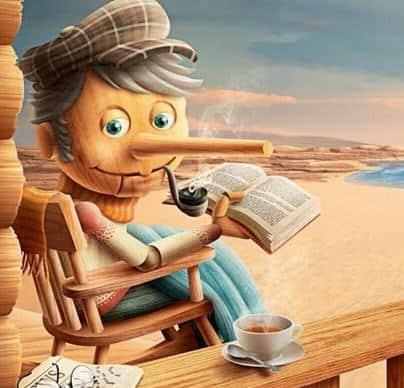Cerita Pinokio dalam Bahasa Inggris dan Artinya