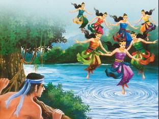 Cerita Dongeng Bahasa Inggris Tentang Jaka Tarub dan 7 Bidadari Beserta Artinya